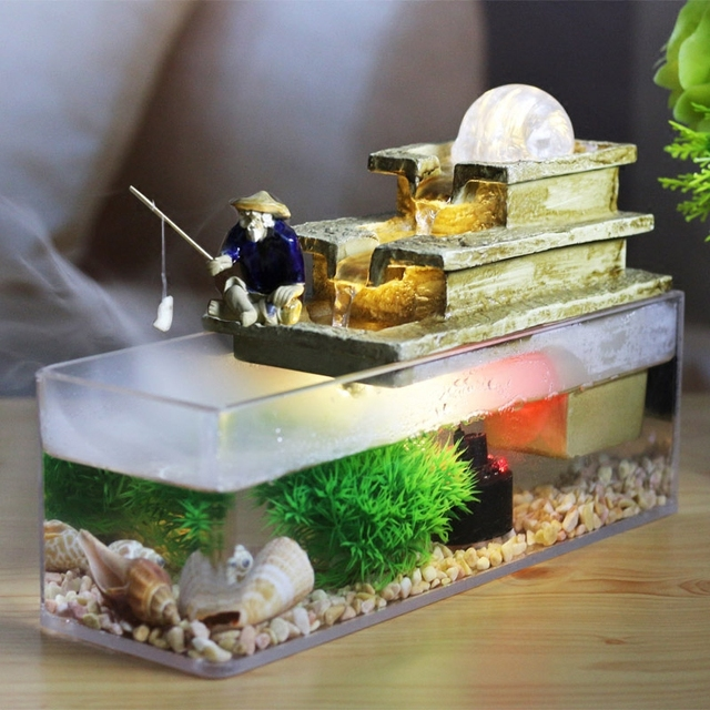 No 1506 water fountain feng shui craft fish tank aromatherapy 1506 water fountain feng shui craft fish tank aromatherapy indoor air humidifier desktop ornaments workwithnaturefo