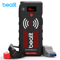Beatit BT G18 2000A Peak 21000mAh 12V Portable Car Jump Starter with Smart Jumper Cables Auto Battery Booster Power Pack