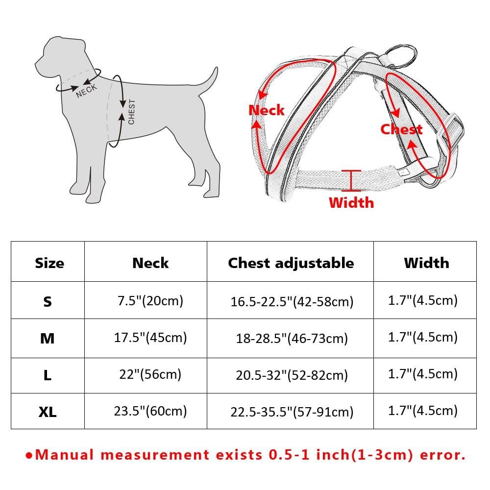 Najlon reflektirajuća mekana mrežica podstavljena pasa za prsluk - Kućni ljubimci - Foto 6