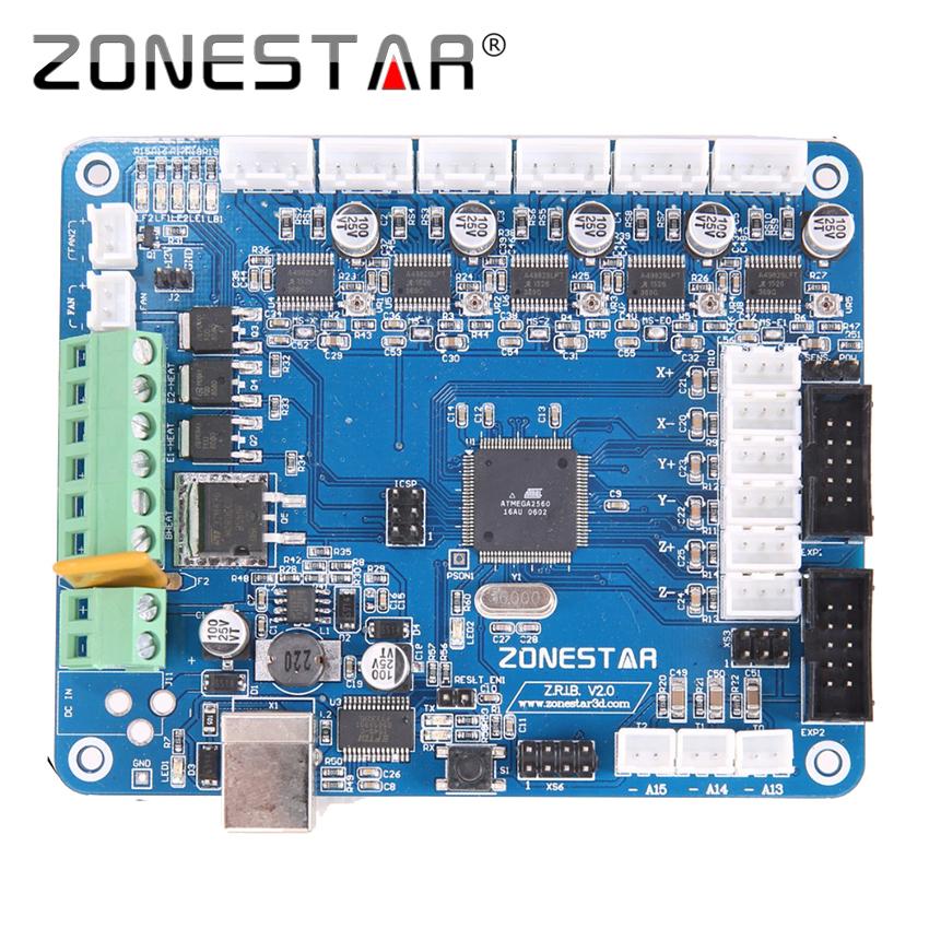 Prix pour Reprap 3D Imprimante Contrôle Carte Mère ZRIBV2/V3 Compatible avec RAMPES 1.4 Imprimante Contrôle Reprap Mendel Prusa ZONESTAR P802 D810