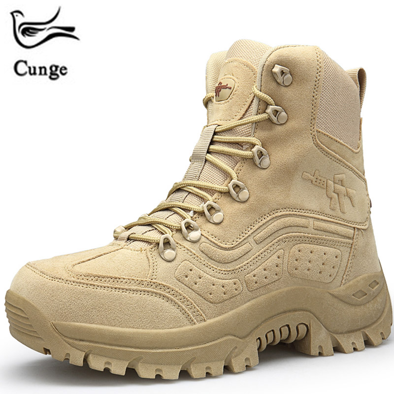 Hiking Shoes Men Trekking Sneakers Spring Outdoor Climbing Boots Tactical Boots Military Mountain Shoes Man Sports