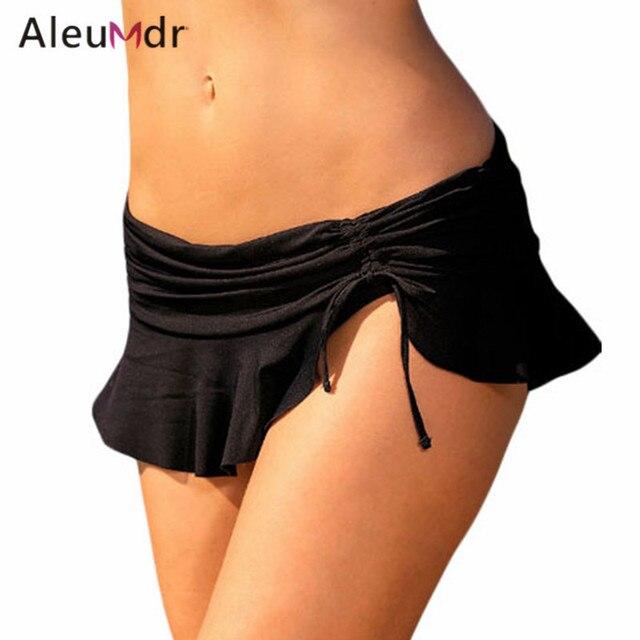 f7369d2f45 Aleumdr Bikini Bottoms For Women Summer Beach Swimwear Brazilian Lace-up  Bottom Swimsuit LC410250 Biquini Parte Inferior