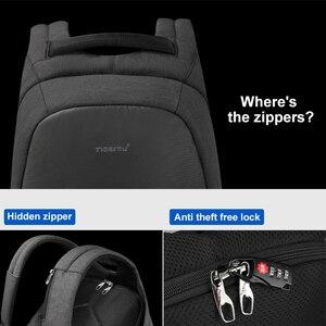 Image 2 - Tigernu 패션 배낭 안티 절도 15.6 인치 노트북 Mochilas Splashproof 남성 여성 배낭 USB 충전 여행