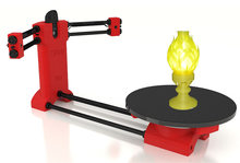 Reprap 3d Open source DIY BQ Ciclop 3d scanner kit for 3d printer, designer and engineering