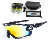 Men Jawbreakerer Cycling Sunglasses Polarized Bicycle Glasses 5 Lens Set Outdoor Sports Goggles Gafas Ciclismo Oculos