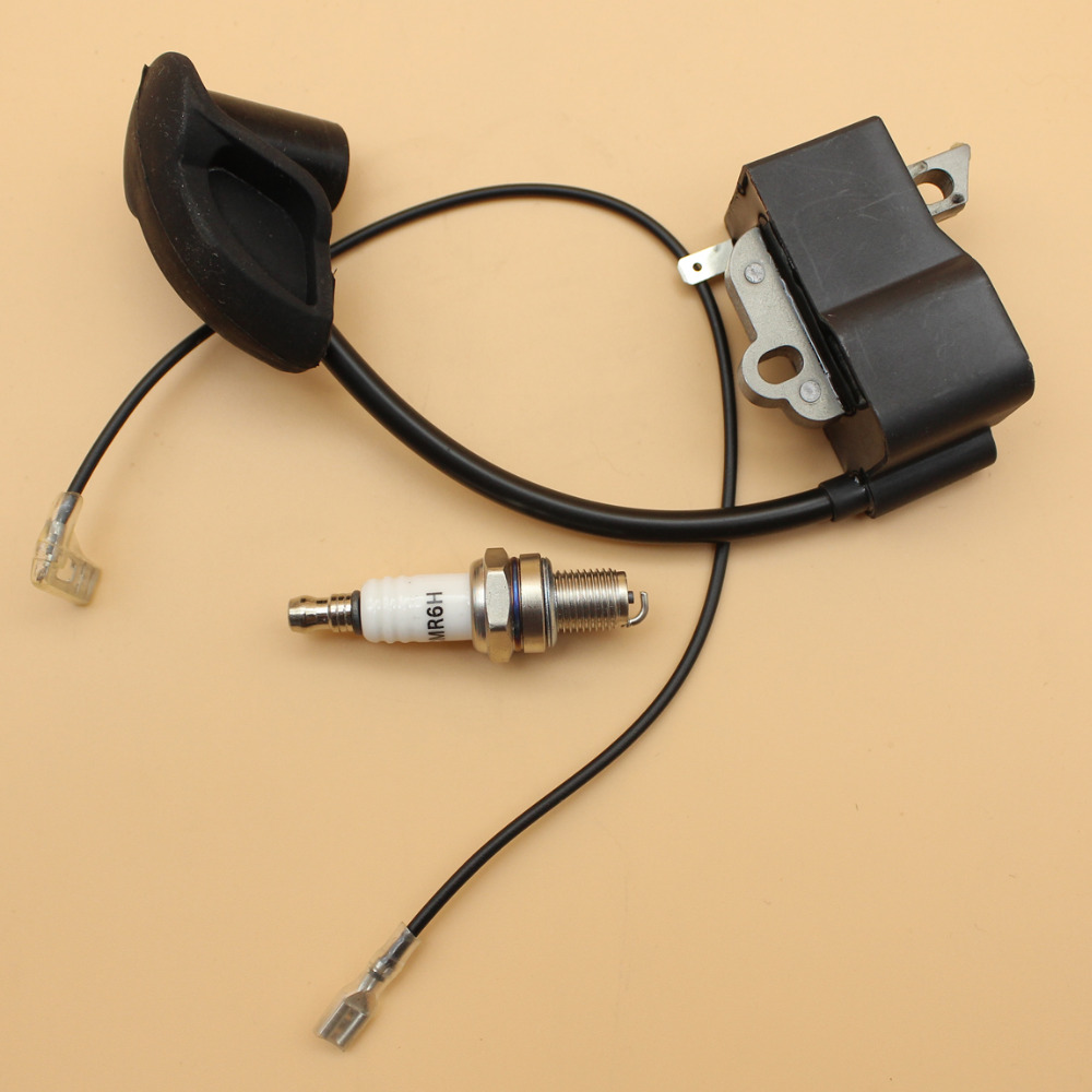 Ignition Coil Module w/ Wire Spark Plug For STIHL BR500 BR550 BR600 BR 500 550 600 Backpack Leaf Blower NEW TYPE