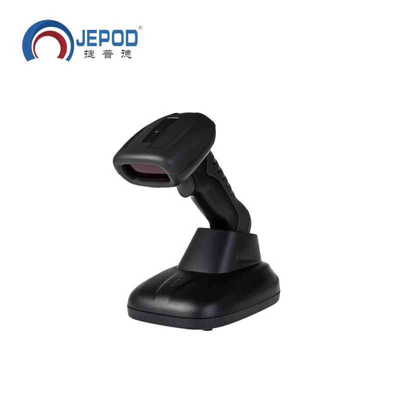 JP-W6 wireless 2d barcode scanner read codes on paper & screen handheld 2d code scanner bar code reader qr code reader USB port