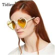 Vintage Women Sunglasses Luxury Retro Brand Designer Heart Woman Fashion for Mirror UV400 High Quality