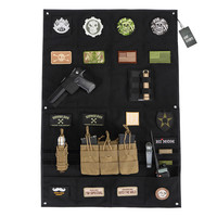 OneTigris Morale Patches Display Board Tactical Patches Holder Badges Folding Mat for All ID Patches Name Tapes