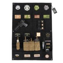 OneTigris Moral Patches Anzeigetafel Tactical Patches Halter Abzeichen Klappmatte für Alle ID Patches Name Bänder