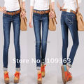 New Classic Ladies' Jeans,Popular Casual Denim Pants Pencil Pants Women's denim Trousers.Free shipping QQ8072