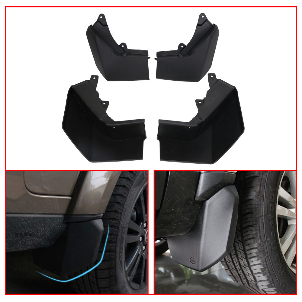 4x Mud Flaps for Land Rover LR3 Discovery 3 2005-2009 Car Exterior Front & Rear Splash Guards Mud Flap Mudguards Fender #RA019