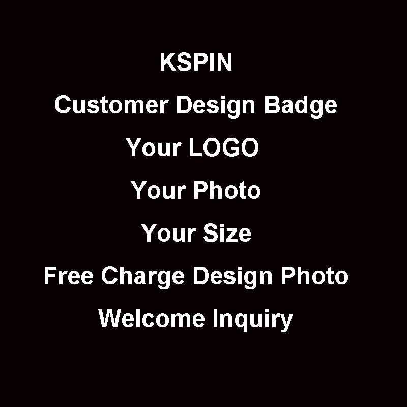 Customer Own Logo Badge for YK