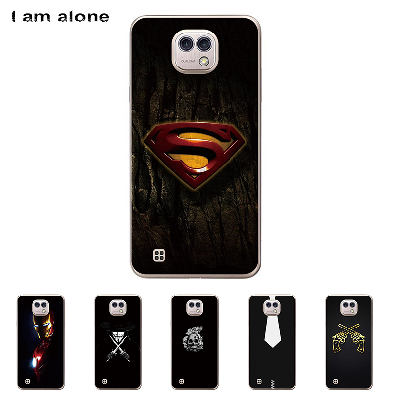 For LG X Cam K580 5.2 inch Solf TPU Silicone Case Mobile Phone Cover Bag Cellphone Housing Shell Skin Mask DIY Customize