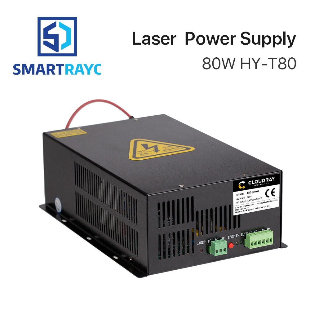 все цены на Smartrayc 80W CO2 Laser Power Supply Source for CO2 Laser Engraving Cutting Machine HY-T80
