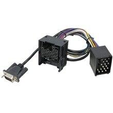Sostituzione Cablaggio Per BMW Pin Radio Bluetooth Adattatore Per Auto M06/M07 Digtial Music CD Changer