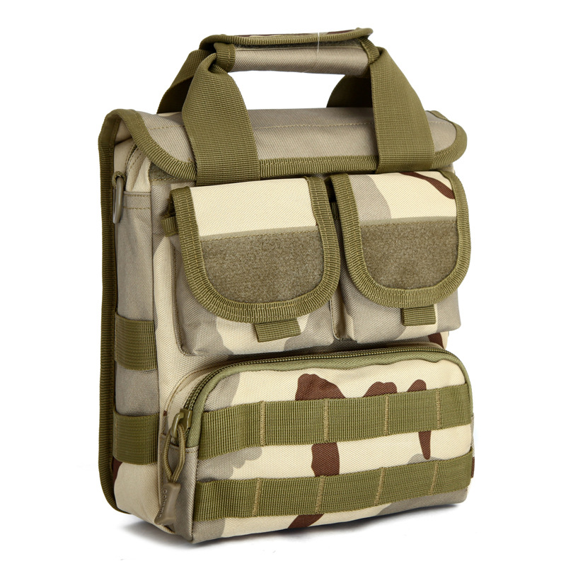 Single Shoulder Bag Strong Multi Pocket Satchel Men 39 s Bag Waterproof Bolso Bandolera for Ipad Bags Camuflage Cellphone in Crossbody Bags from Luggage amp Bags