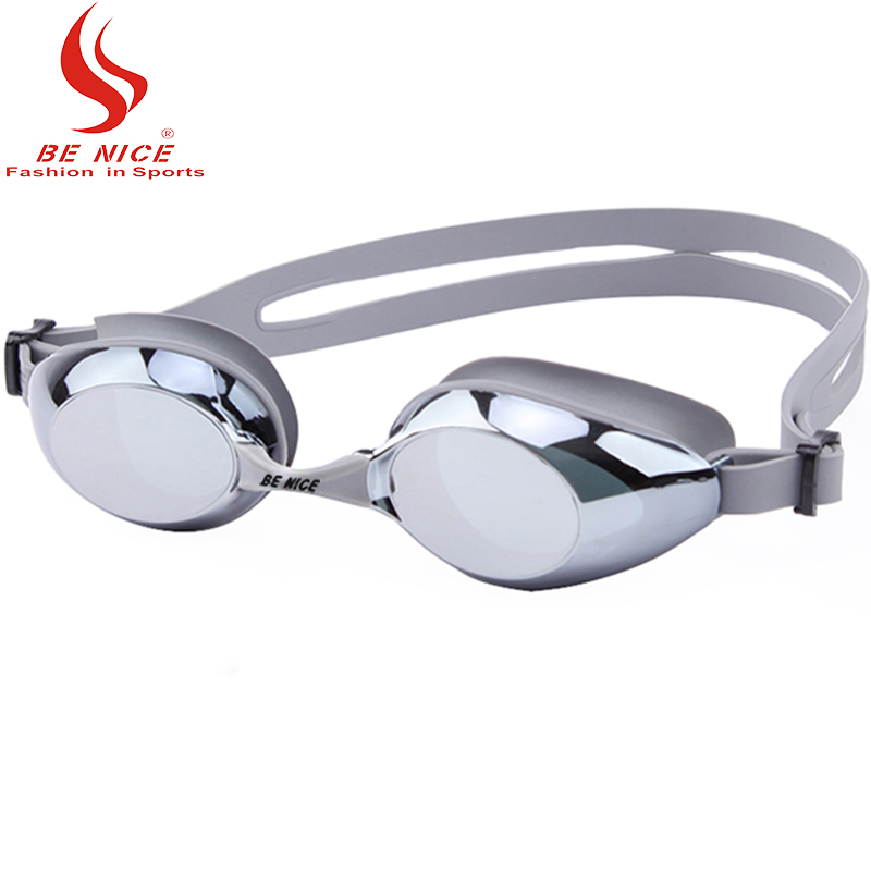 Whale Brand Adult Waterproof Anti Fog UV400 Professional Swi