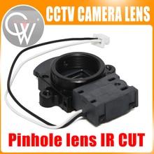 10 pz/lotto 5.0 Megapixel M12 Pinhole lens speciali di IR Cut Doppio Filtro ICR Doppia Switcher IR CUT 20 millimetri Lente Monte supporto