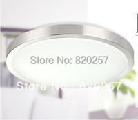 Round Mordern 8W SMD Led Ceiling Light With Aluminum Ring AC85 260V Cool White Warm White