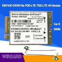 EM7430 GOBI6000 Cat6 300M 4G Card LTE  for DELL 7280 7285 7290 7389 7390 7480 7490 E7470