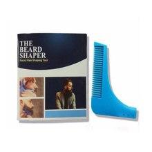 BKLD New 2018 Men Beard Tool Beard Grooming Tools Beard Shaving Template Template Beard Knife