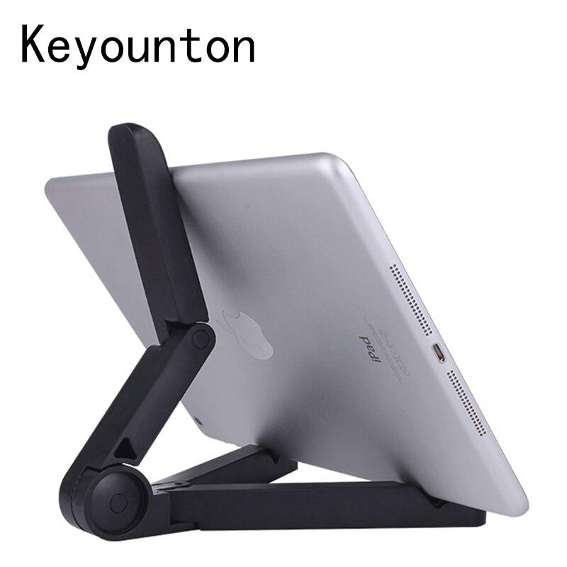 Foldable font b Tablet b font Holder Desktop Bracket Mount Adjustable Big Phone Holder Stand for