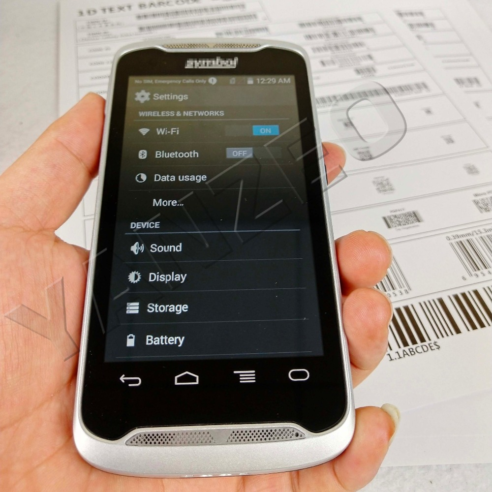 Barcode Scanner Symbol Bettery Zebra Handheld Mobile 2D for Tc55/Handheld/Mobile/..  title=