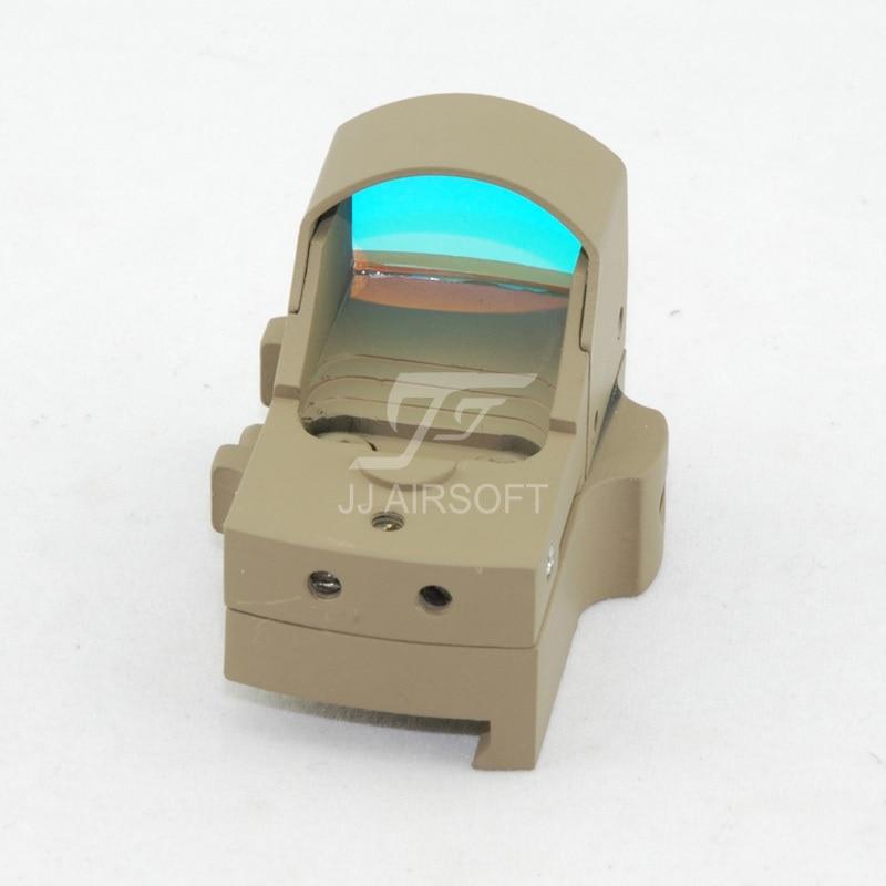 JJ Airsoft Docter Mini Red Dot Sight Light Sensor (Tan) FREE SHIPPING(ePacket/HongKong Post Air Mail)