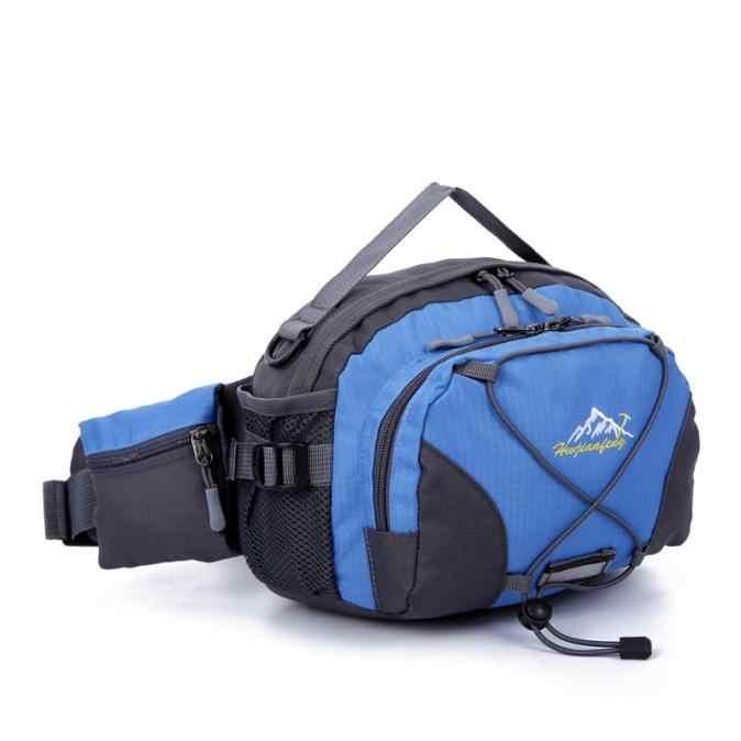 胡ワイ建風水 2019 新防水ランニングベルトボムポーチファニーパックキャンプスポーツハイキングショルダーバッグ