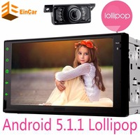 Universal 2 Din Android 5 1 Car Stereo Mp4 Mp5 Player GPS 16GB Quad Core Bluetooth