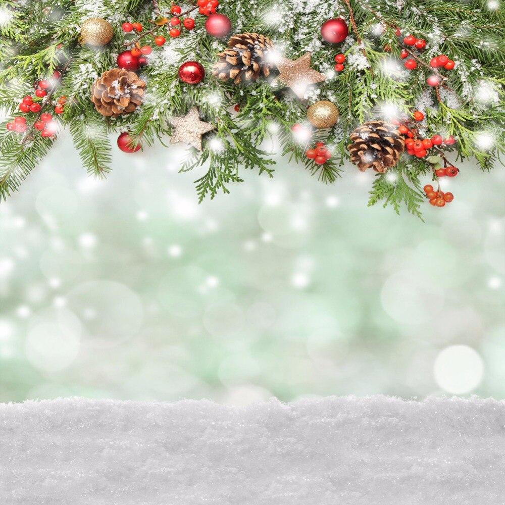Weihnachten Hintergrund Vinyl Fotografie Hintergrund Schneeflocke ...