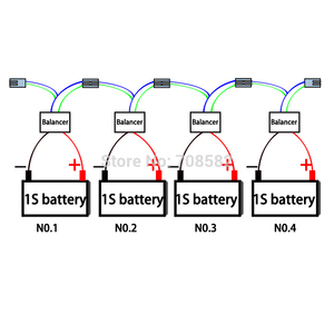 Image 4 - Led 표시기 1S 12V 배터리 이퀄라이저 단일 셀 리드 산 성 배터리 균형 BMS 배터리 젤 홍수 AGM