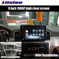 Liislee Car Multimedia Player NAVI For Mercedes Benz MB GL GLS Class X166 2011 2017 Car