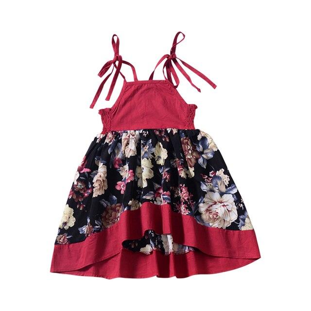 KAVKAS 2019 Sleeveless Multicolour Summer Girl Dresses