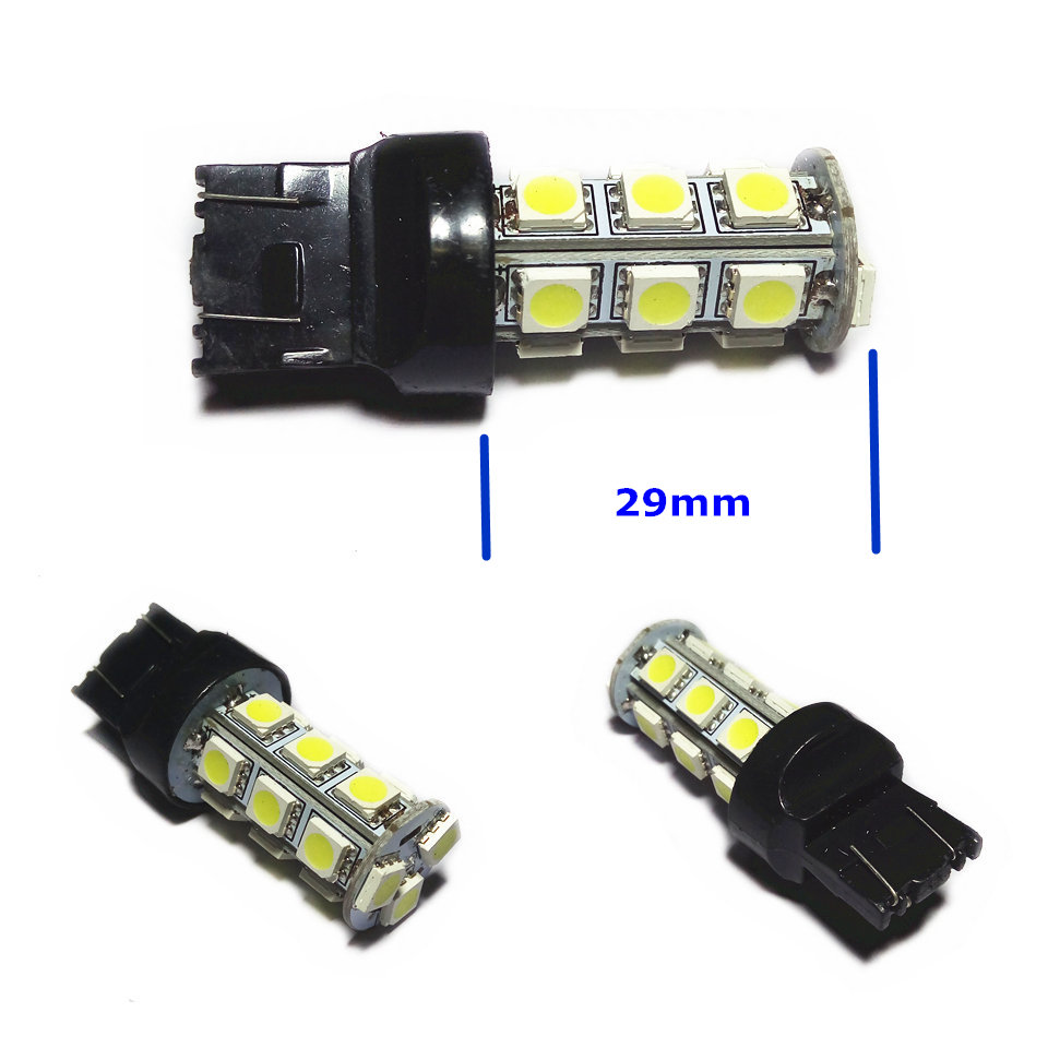 12V LED (18 * 5050SMD) Lâmpada bulbo do carro W21 / 5W T20 W3X16q / - Faróis do carro - Foto 4