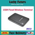 GSM FWT Стационарный Беспроводной Терминал 1 rj11 FXS Порта Fixed Cellular Terminal Ворот сторону B932