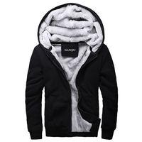 Print Hoodies Men 2016 Winter Fashion Thick Men S Hooded Sweatshirt Male Warm Wool Liner Sportswear