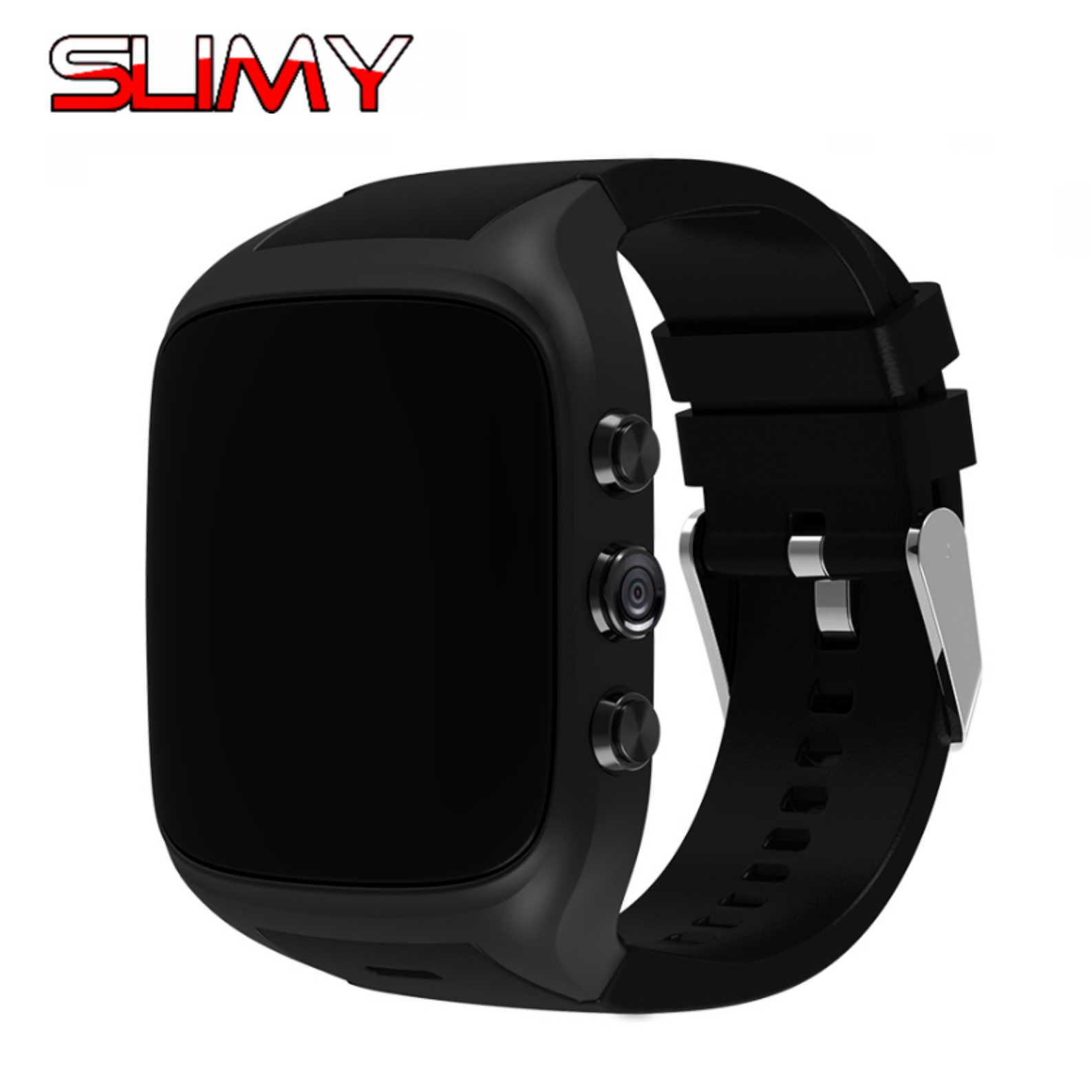 Slimy X0S Smart Watch Phone Android 5.1 OS MTK6580 8GB 2MP Camera Smartwatch Wifi 3G SIM Card GPS Smart Watch for Men Women Kids kinco mtk 6580 512mb 8gb bluetooth camera gps smart watch phone heart rate sim pedometer sos smart watches for ios android