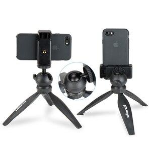Image 3 - Ulanzi Mini Statief Voor Telefoon, reizen Statief Met Afneembare Ballhead Voor Iphone Samsung Canon Nikon Gopro 6 Glad Q Glad 4 Dji