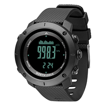 Купить с кэшбэком NORTH EDGE Men's sport Digital watch Hours Running Swimming Military Army watches Altimeter Barometer Compass waterproof 50m