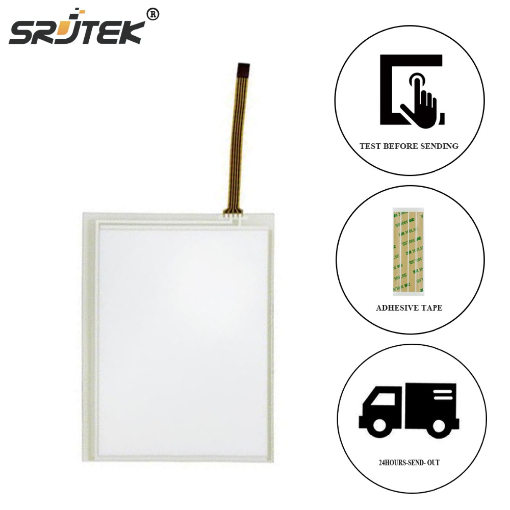 Srjtek For KORG PA500 M50 TP-3567S1 6MM 131*103mm Touch Panel Screen Glass Digitizer Replacement free tracking id 5 7 inch 135 105mm touch panel digitizer screen replacement for korg pa500 m50 tp 356751 5mm