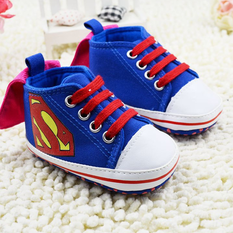 SALE Baby Superman Shoes Baby Toddler Shoes Leisure Baby Shoes First Walkers Fashion Sneakers image