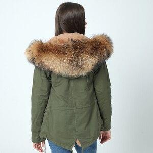 Image 5 - OFTBUY 2020 เสื้อแจ็คเก็ตสตรีฤดูหนาวใหม่ยาวจริงขนาดใหญ่ Raccoon ขน hooded Parkas หนา outerwear stree สไตล์