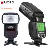 New Triopo TR 950 Flash Light Speedlite Universal For Fujifilm Olympus nikon d3400 Canon 650D 550D 450D 1100D 60D 7D 6D Cameras