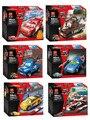 Bela cars 2 car model building blocks set modelo de vehículo de ladrillo juguetes compatible con kid cumpleaños regalo del muchacho