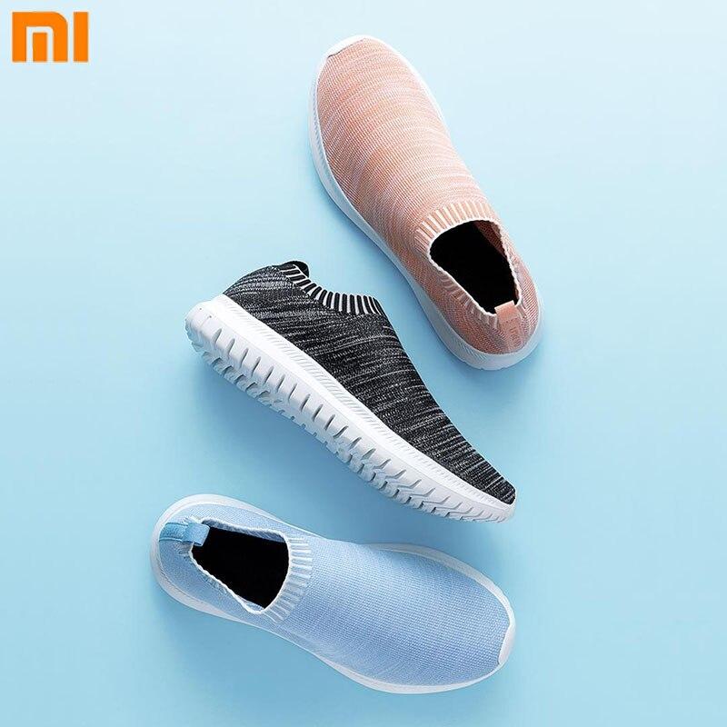 Original Xiaomi Youqi loisirs décontracté chaussures de marche légères pour les femmes et les hommes seulement 178g Mijia Portable maison pantoufles