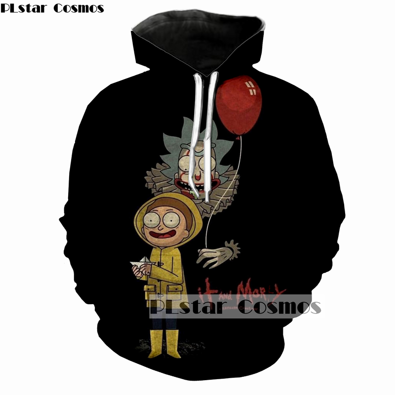 PLstar Cosmos rick and morty jumper Fashion 3D Hoodies Creative printing casual Hoody Funny Sweatshirt size S-5XL Drop shipping rick and morty jumper Fashion 3D Hoodies HTB1plNjX46I8KJjSszfq6yZVXXaM