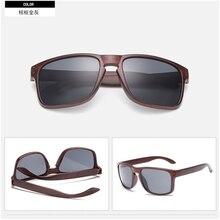 Fashionable 2017 Wood Sunglasses Men Reflective Sports Sun Glasses Outdoors Square Eyewear Gafas De Sol Oculos Feminino