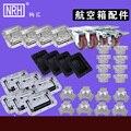 NRH personalizado aviação peças caixa de peças caixa de caixa de peças de Performance de Áudio peças de caixa de ar de Alumínio